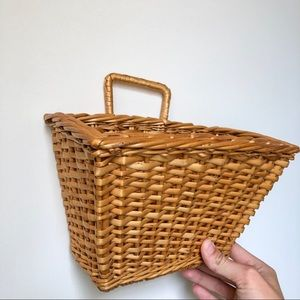 Other - Hanging Wicker Basket